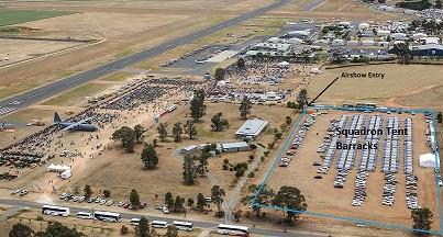 Squadron Tent Barracks map